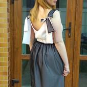 Нежный изысканный комплектик юбка и блузка.Family Look, Фемили Лук