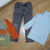 Реглан,джинсы,гольф на 3-4года