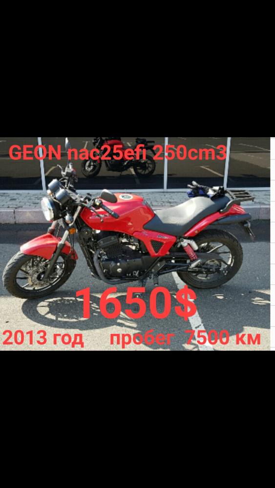 мотоцикл GEON nac25 250cm3  1600$ фото №1