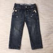 Крутые джинсы итальянского бренда Type A-1 на 2 года.