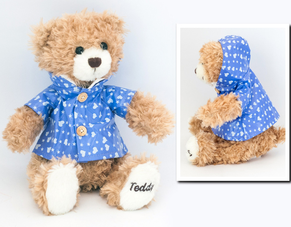 Мягкая игрушка плюшевый мишка тедди teddy фото №1