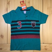 Детская футболка с воротником рр. 110-128 Beebaby (Бибеби)
