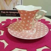 Чашка из китайского фарфора Mary Kay, мэри кэй, мери кей