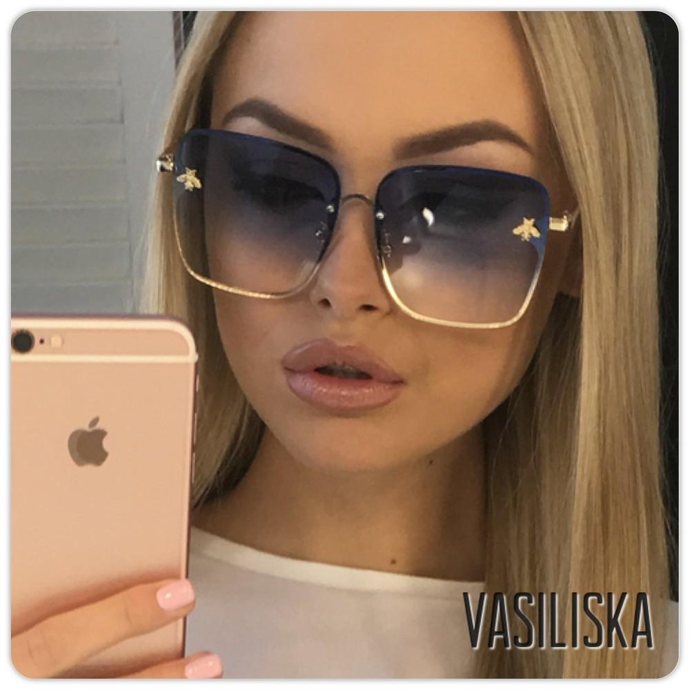 Стильные солнцезащитные очки гучи 324 фото №1