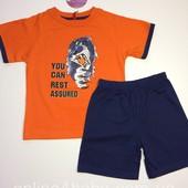 Пижама детская на мальчика Natural Club 2-3, 5-6, 6-7 лет, рост 98,110,116,122