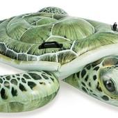 Intex Плотик 57555 Черепаха от 3 лет, размер 191х170см