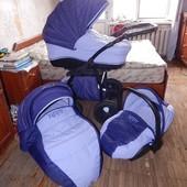 Легкая коляска 11 кг! Tutis Zippy, 3в1, с автокреслом!