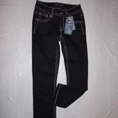 ххS, поб 40-42, укороченные! узкачи! джинсы скинни со стразами Arizona, Германия, со стразами