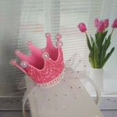 Короны для принцесс, много цветов