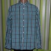 Рубашка - клеточка - коттон - Esprit  urban - L