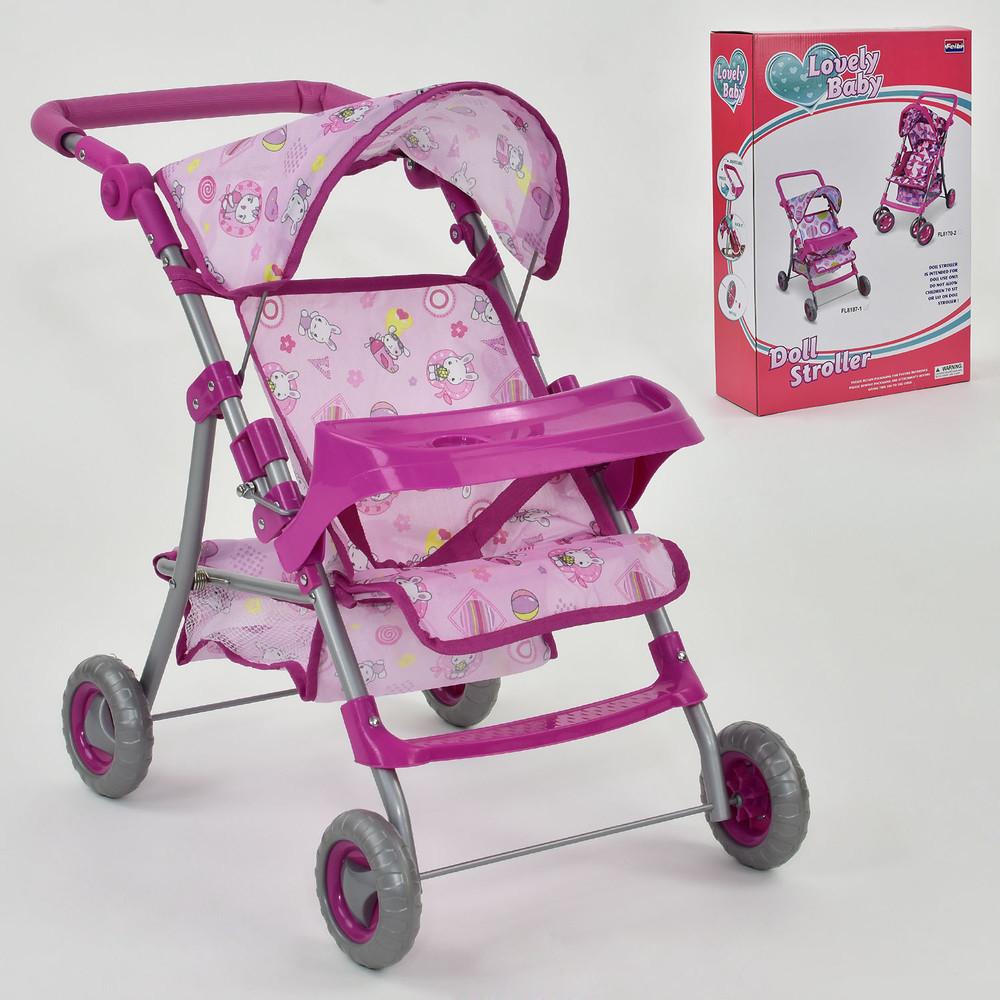 Lovely baby fl 8187 коляска для кукол кукольная колясочка прогулка фото №1