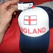 Новая фирменная спортивная кепка бейсболка зб Англии Ochsner sport .м-л-хл .