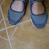 Мокасины кроссовки летние 23,5 см Alive Германия