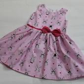 Красивые платье сарафан в ассортименте 68-152