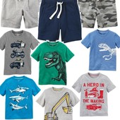 2-6 лет футболки, шорты, картерс, carters, шорти, футболка, пижама