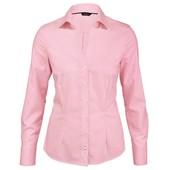 Классическая рубашка блуза р.40(наш 46) Esmara розовая