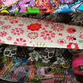 Пенни борд - светящиеся колеса PU, яркий, легкий penny board