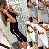 Стильное Платье Новинка Размеры:  с, м, л