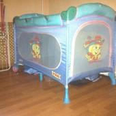 Детский переносной манеж-кровать Seca