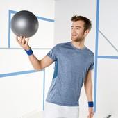 Мужская футболка для занятий спортом размер М, 23-104 Ю