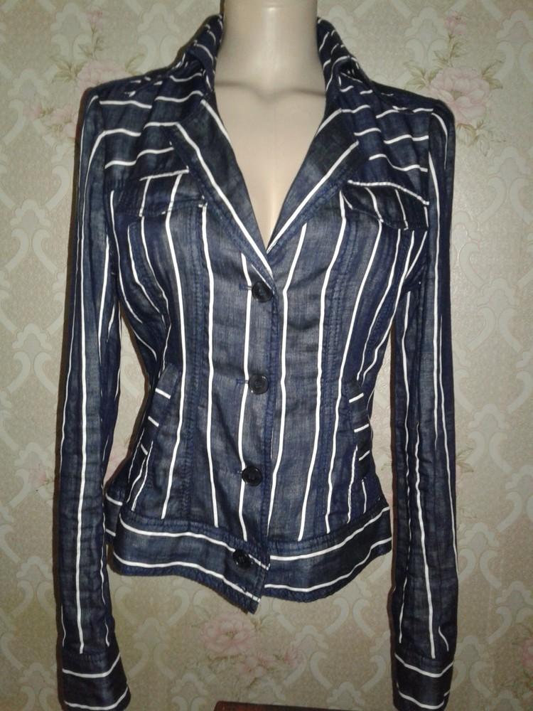 Новый летний пиджак из натуральной ткани. р 44-46. фото №1