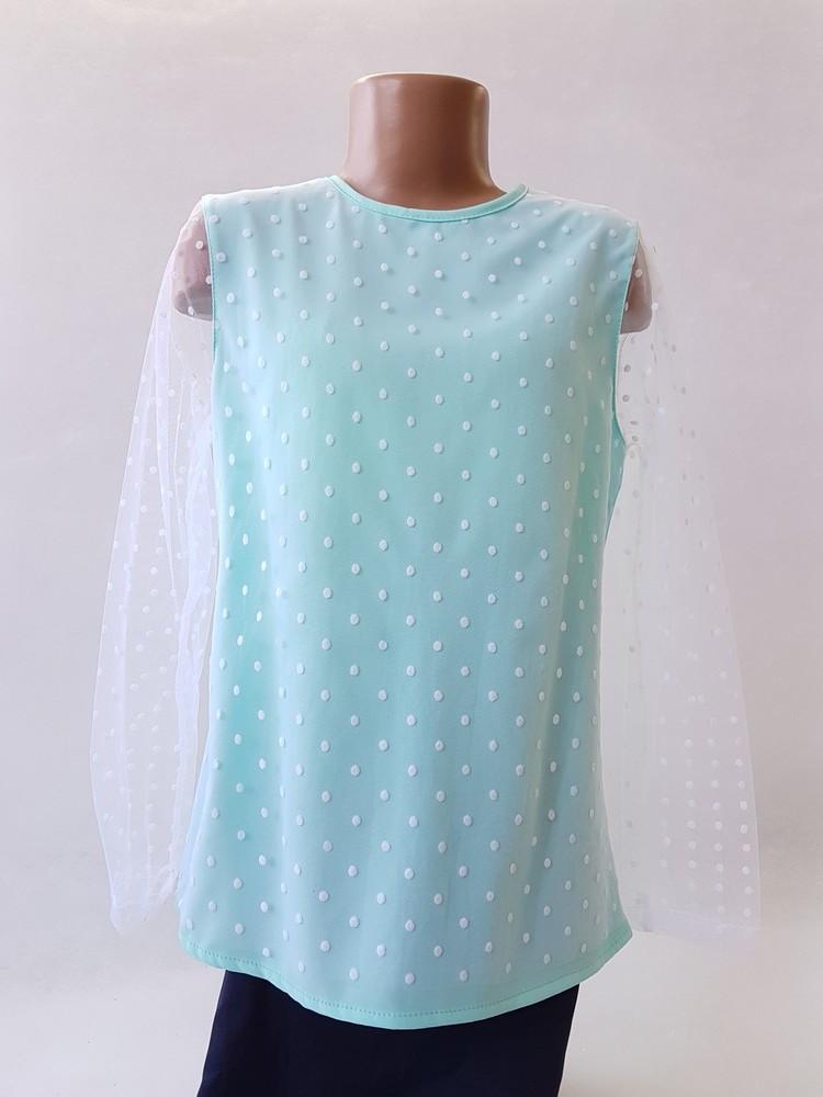 Блузки для девочек 116-140 (код 01) фото №1