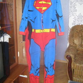 """Сліп флісовий""""Супермен""""(великий розмір )XL\2XL"""