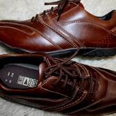 44 разм. Marks&Spencer. Кожа. Фирменные мокасины на шнурках   Длина по внутренней стельке - 29,5 см.
