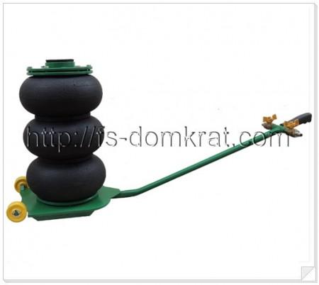 Домкрат пневматический подкатной ДП-3ТМ фото №1