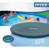 28020 Тент накрытие для бассейнов 244 см надувных Intex интекс