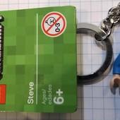 Lego Minecraft брелок Стив 853818