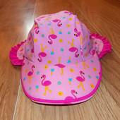 Непромокаемая пляжная кепка M&S для девочки 12-24 месяцев, 48-50 см