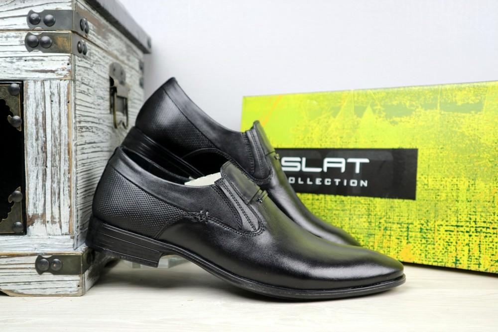Мужские классические кожаные туфли, р 40-45, код gavk-10894 фото №1