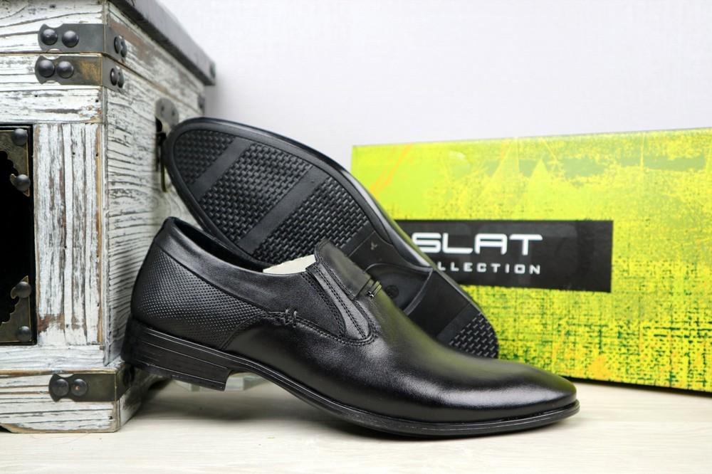 Мужские классические кожаные туфли, р 40-45, код gavk-10894 фото №2