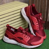 Стильные красные мужские кроссовки