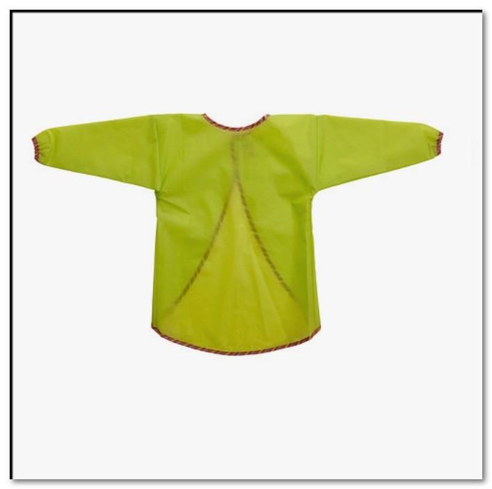 Фартук с длинными рукавами, зеленый мола, mala 902.104.90 икеа ikea фото №1