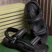 Лёгкие удобные мужские сахабы черного цвета