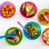 Набор детских тарелок 6штук, разные цвета Икеа Калас, Ikea Kalas 501.929.59 В наличии!
