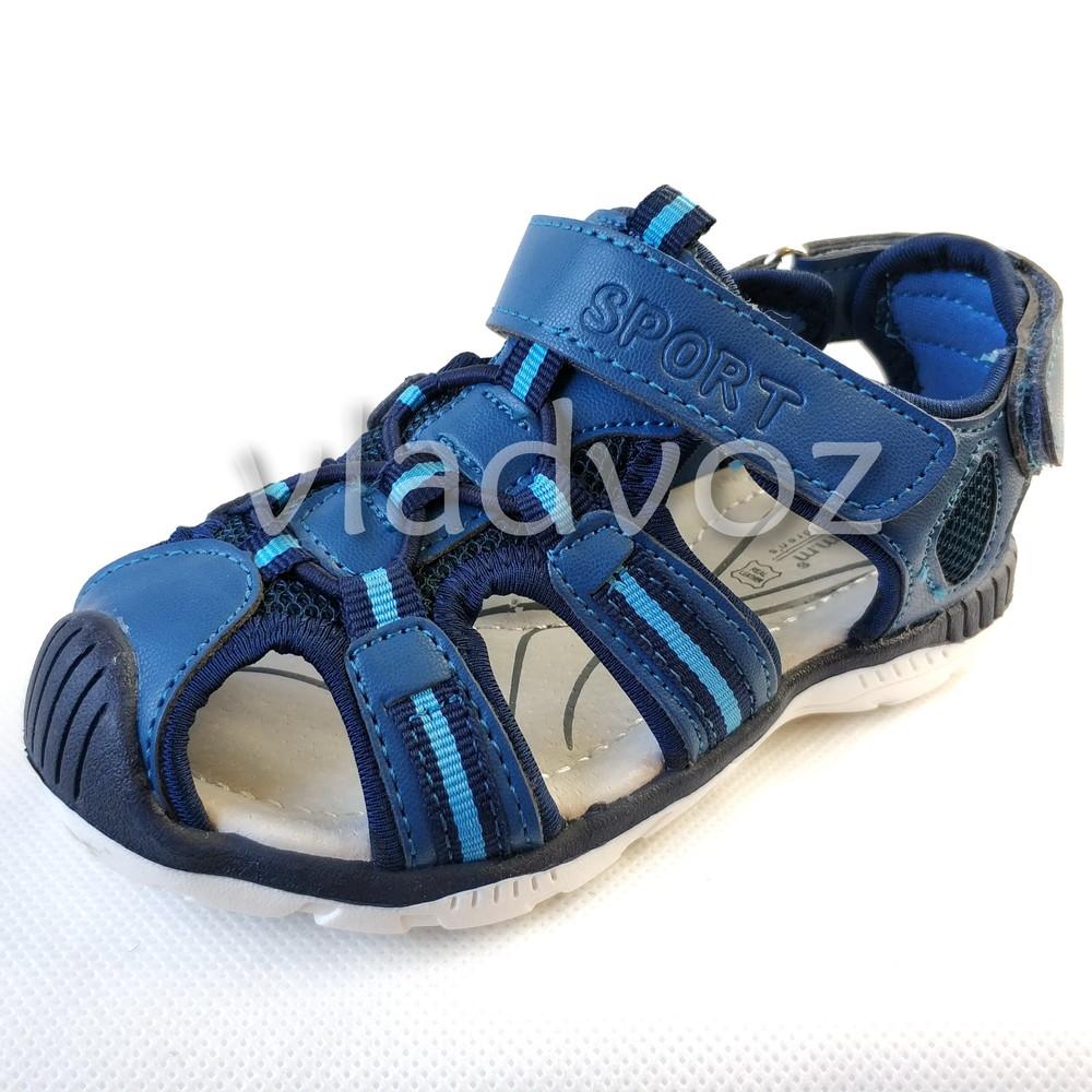 97a28492f Босоножки сандалии для мальчика спорт 26-31р. том.м 3832, цена 320 ...