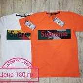 Supreme,футболки на мальчика рост 140-176 см.