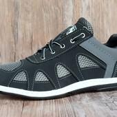 Стильные и комфортные летние кроссовки (С-15-grey)