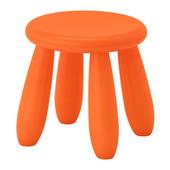 Табурет детский, д/дома/улицы, оранжевый Икеа Маммут, 503.653.61 Mammut Ikea В наличии!