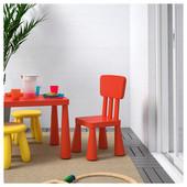Детский стул, д/дома/улицы, красный Икеа Маммут, 403.653.66 Ikea Mammut В наличии!