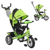 Велосипед трехколесный M 3115-4HA Lime Green