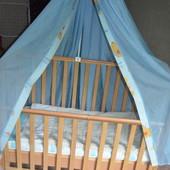 Кроватка-качалка Верес Соня с выдвижными ящиком