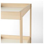 Пеленальный стол, бук, белый, 72x53 см Сниглар, Sniglar 200.452.05 Икеа Ikea