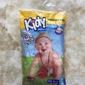 Подгузники памперсы фирмы Kidy размер 5 (11-25кг) 2 шт в упаковке
