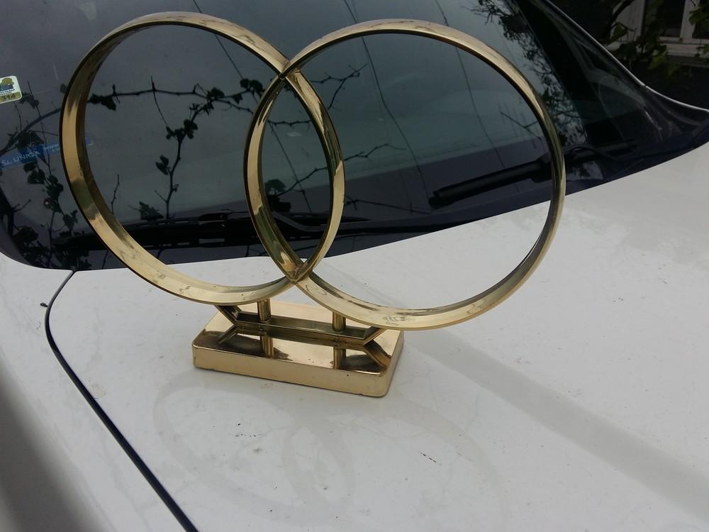 Кольца на машину фото №1