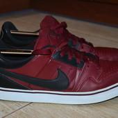Nike 43/5-44р кроссовки сникерсы кожаные. Оригинал.