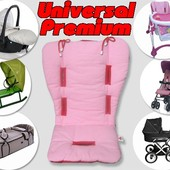 Матрасик Universal Premium в коляску, автокресло, санки